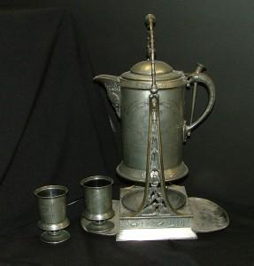 Meriden Silver Plate Water Pitcher, 1885