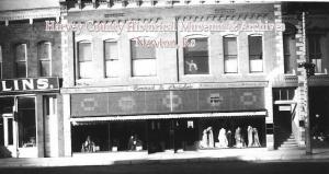 Conrad & Dutcher Clothing, 607-609 Main, Newton, ca. 1911