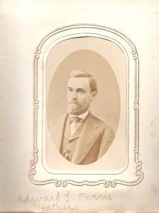 Edward L. Parris, ca. 1880