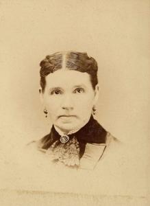 Emma Wright Parris, ca. 1880 Photo by F.D. Tripp