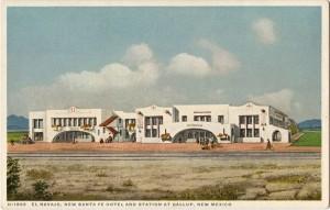 El Navajo, Gallup, NM. Postcard