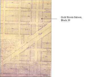 Plat Map of Newton, Kansas, 17 August 1871. HCHM Archives Map Collection.