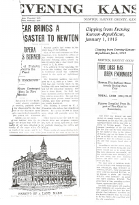 Evening Kansan Republican,  2 January 1915