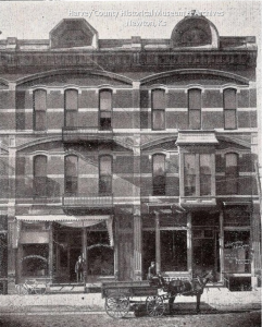Schumacher's Furniture Business, exterior, 1901