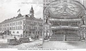Ragsdale Opera House, 1885