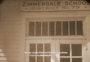Zimmerdale School No. 79, 1961.