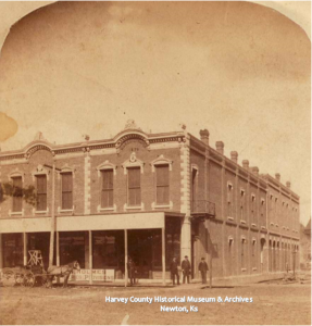 Masonic Building, 700 N. main, Newton, ca. 1880