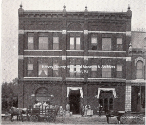 Bretch Brothers Wholesale & Retail Grocery , 811-813 Main, opened in 1881 from the Western Journal of Commerce, 1901.