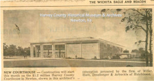 Clipping from the Wichita Eagle, January 1964.