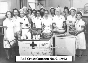 Red Cross Canteen No. 9, 1942