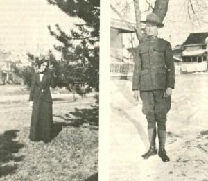 Nellie Fox and James Fox, Jr