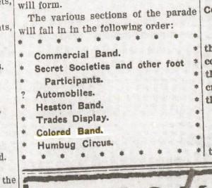 Evening Kansan Republican, 2 November 1909, p. 1.