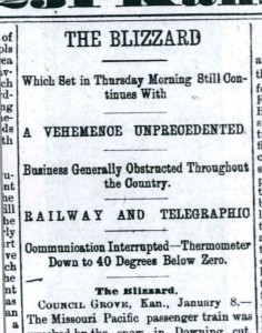 Topeka Daily Capital, 9 January 1886, p. 1.