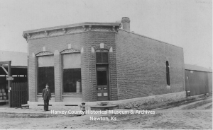 Newton Lumber Co, 113 E. 6th, Newton, Ks. ca. 1885