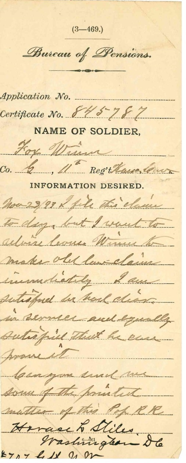 Thomas organ company pension - He Received His Pension With The Diagnosis Of Disease Of The Digestive Organs And Piles And Chronic Diarrhea