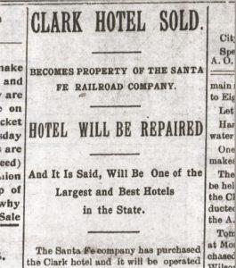 Newton Daily Republican, 2 December 1898.