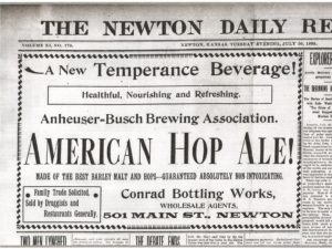 Newton Daily Republican, 30 July 1895.