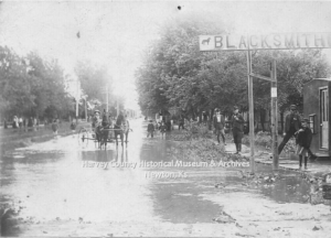 Newton Flood, June 2, 1904