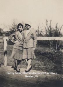 Helen Sharits & Irene Wantland, 1928.