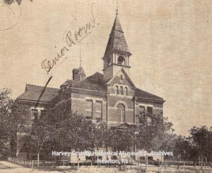 Cooper School, E 7th & Oak, 1900.