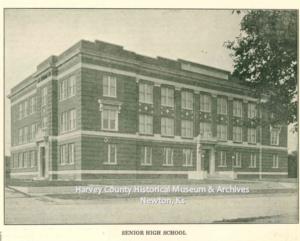 Newton High School, Newton Kansan 50th Anniversary Ed, Aug 22, 1922 p. 69.