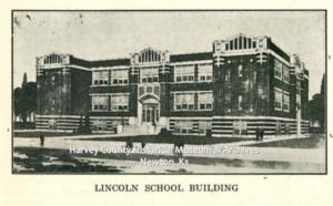 Lincoln School. Newton Kansan 50th Anniversary Ed, Aug 22, 1922 p. 70.
