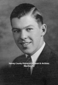Michael B. Adams, NHS Sr 1934. Photo courtesy Jean Adams Tonoli.
