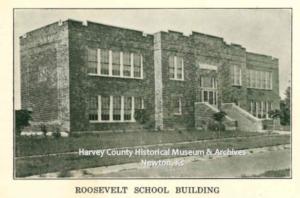 Roosevelt School, Newton Kansan 50th Anniversary Ed, Aug 22, 1922 p. 70.
