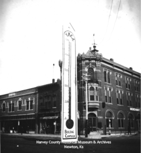 YMCA Building Campaign, Fall 1908, Intersection of Main & 6th Newton, Ks