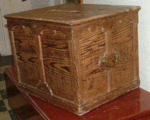 Ballot Box, Darlington Township, Harvey County, ca. 1880s.
