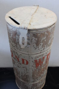Detail of Ballot Container, 2nd Ward, Newton, Ks.