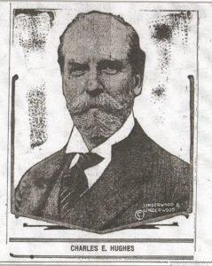 Charles E. Hughes, Evening Kansan Republican, 6 November 1916, p.1.