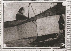 Rene Barrier, Evening Kansan Republican, 25 April 1911, p. 1