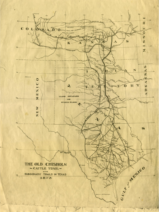 the major role of the chisholm trail in american history Hist 150u chisholm trail  more in-depth understanding of the history of, and major historical debates  hist 599wh law in american history honors.